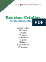 Recetario Criollo_preparaciones Básicas