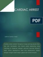 Definisi Epidemiologi Cardiac Arrest