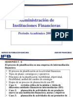 Adm Inst Financieras 2009 - i Sesion 5 y 6