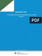 Informe 107 -Hcdn-Tomo II