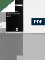 Actual Doctrina de La Imputabilidad. CDJ 2007