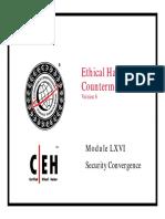 CEHv6 Module 66 Security Convergence.pdf