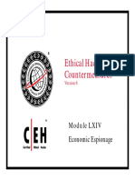 CEHv6 Module 64 Economic Espionage