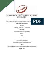 Facultad de Ciencias Contables Administrativas y Financieras