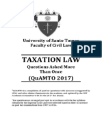Quamto Taxation Law 2017