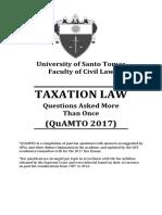 Quamto Taxation Law 2017