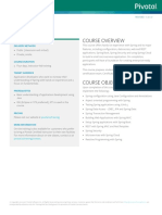 Pivotal EDU CoreSpring TrainingBrief