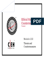 CEHv6 Module 61 Threats and Countermeasures