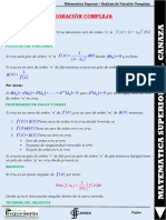 Formulario Integ Compleja Cal II