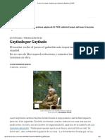Premio Cervantes_ Goytisolo Por Goytisolo _ Babelia _ EL PAÍS