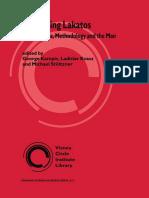 (Vienna Circle Institute Library 1) John Watkins (auth.), George Kampis, Ladislav Kvasz, Michael Stöltzner (eds.)-Appraising Lakatos_ Mathematics, Methodology, and the Man-Springer Netherlands (2002)