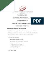 Informe Del Proyecto Final Manrique