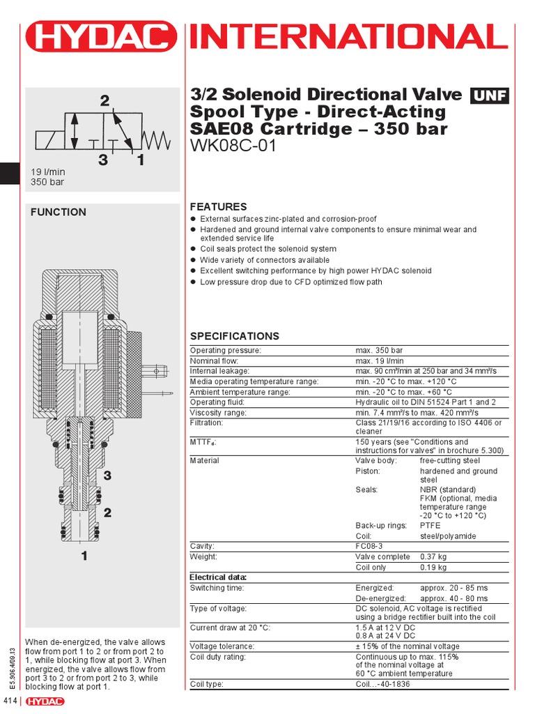 E5906 Wk08c01 Valve Rectifier 12 Volt Solenoid Wiring Diagram Continues