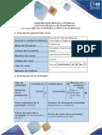 Guía de actividades y rúbrica de evaluación - Unidad 1 y 2_ Paso 7_ Actividad final Fase 3 Foro Proyecto Final. 16-4.