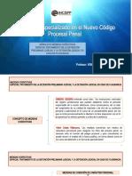 Medidas Coercitivas en El NCPP
