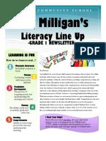 miss milligans newsletter