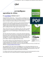 U.S Secret Bases in Africa