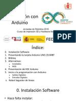 JornadasRobotica2016_Programación Con Arduino