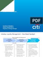 Citi TTS Seminar BASEL III Intraday Liquidity