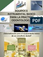 equipamiento basico en odontologia