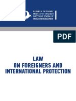 Republic of Turkey Law on Foreigners and International Protection