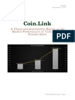 "A Visual and Quantitative Report on the Market Performance of ""Coin""-Related Domain Sales."