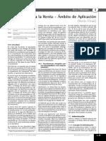 ambito de aplicación de impuesto a la renta