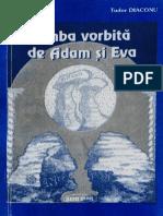 Tudor Diaconu și Ilie Stanciu - Limba vorbită de Adam și Eva