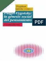 Piaget - Vigotsky - La Genesis Social Del Pensamiento - 269 Pag