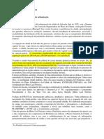 Breve Historia Da Urbanizacao de Salvador