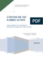 Teoria Costos de No Fabric