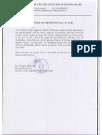 Rwanda Episcopal Election Announcement