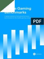 GameAnalytics Benchmarks Report