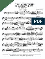 Four.miniatures.solo.Sax