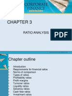 Chapter 3 - Ratio Analysis