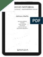 Derecho Notorial. Adriana Abella