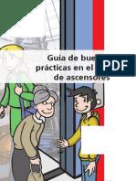 Guia de Buenas Prácticas en Ascensores