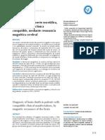 RNM y Muerte Cerebral
