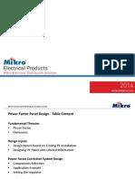 Mikro PFR Panel Design Traning Slides Kuching Aug 2016