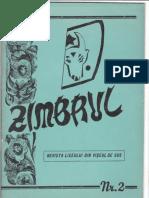 Zimbrul-revista Liceului Bogdan Voda Din Viseu de Sus