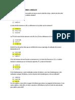 Sitema de Ecuaciones Lineales