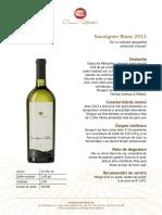 Crama Ratesti Fisa Sauvignon Blanc 2013