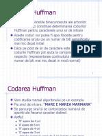 #Codarea Huffman