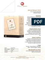 Bib Alb de Ratesti 2014