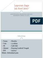 Laporan Jaga 22 Juni 2017.pptx