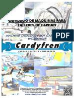 Catalogo de Maquinas Para Talleres de Cardan 2014