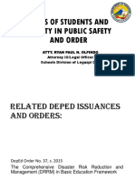 Roles of Students and Faculty in Public Safety
