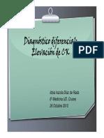Diagnóstico Diferencial de La Elevación de CK
