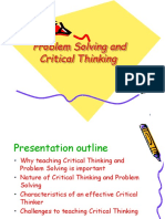Problem Solving & Critical Thinking ('10)