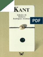 Kant, Immanuel - Kant Antologia [40984] (r1.0)